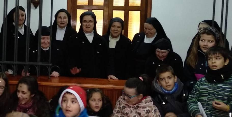 Visita de la parroquia…